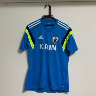 アディダス(adidas)のサッカー日本代表プラクティスシャツ(ウェア)