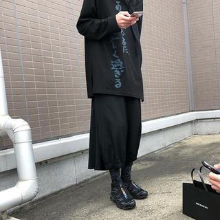 ヨウジヤマモト(Yohji Yamamoto)のヨウジヤマモト 19ss カットソー(Tシャツ/カットソー(七分/長袖))