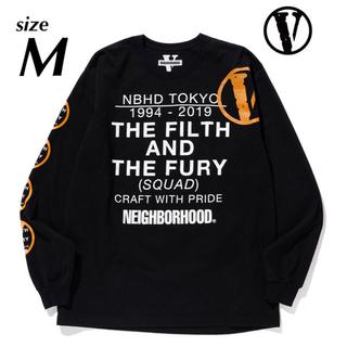 ネイバーフッド(NEIGHBORHOOD)のneighborhood vlone ロングTシャツ M(Tシャツ/カットソー(七分/長袖))