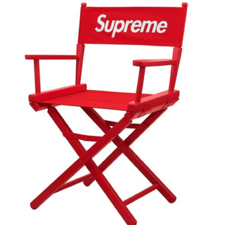 シュプリーム(Supreme)のsupreme Director's Chair red 赤(その他)