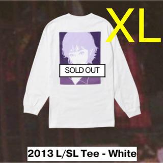 シュプリーム(Supreme)のon air kyne 2013 L/SL Tee - White XL(Tシャツ/カットソー(七分/長袖))