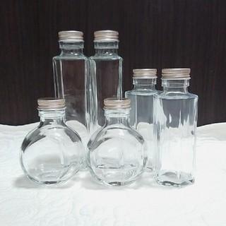 ハーバリウム用ボトル  6本詰め合わせ(その他)