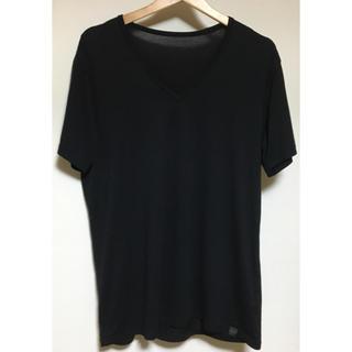 ユニクロ(UNIQLO)のユニクロ ヒートテックVネックTシャツ(Tシャツ/カットソー(半袖/袖なし))