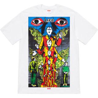 シュプリーム(Supreme)のSサイズ 19ss Supreme シュプリーム Tシャツ 白(Tシャツ/カットソー(半袖/袖なし))