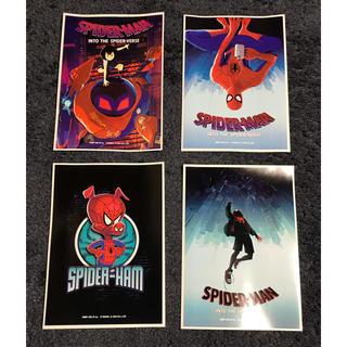 未使用 スパイダーマン スパイダーバース ハッピーくじ ブロマイド A4(印刷物)
