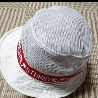 ステューシー(STUSSY)のStussy  メッシュ ハット 帽子(ハット)