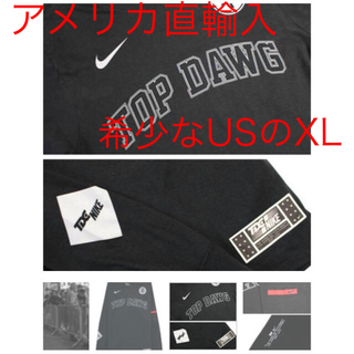 ナイキ(NIKE)のNIKE◆×TDE/Top Dawn Entertainment/ロンT(Tシャツ/カットソー(七分/長袖))
