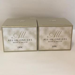 ディーエイチシー(DHC)の値下げ【新品】DHC オールインワンジェル モイスト&フェースアップ 2つ(オールインワン化粧品)