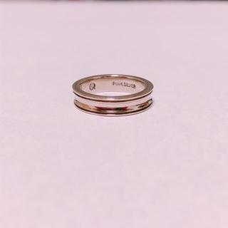 AQUASILVER ピンクシルバーリング(リング(指輪))
