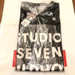 ジーユー(GU)のstudio seven ヘビーウェイトT 黒L(Tシャツ/カットソー(半袖/袖なし))