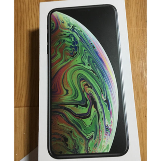 Apple - iPhone XS Max256GB (スペイスグレイ)