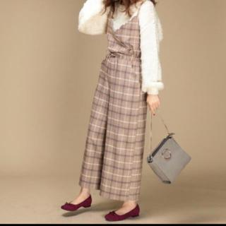 ナチュラルクチュール(natural couture)のナチュラルクチュール   グレンチェック サロペット (サロペット/オーバーオール)