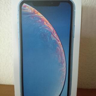 NTTdocomo - iphoneXR ブルー 64GB docomo simフリー