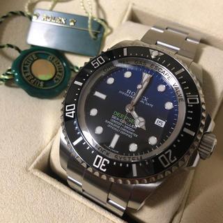 ロレックス(ROLEX)の2015年9月 116660 ディープシー  Dブルー Aランク 並行品(腕時計(アナログ))