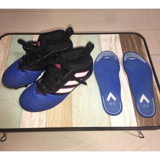 アディダス(adidas)のアディダス エース 17.3-ジャパン HG ジュニア キッズ 19.0cm(シューズ)