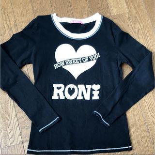 ロニィ(RONI)の値下げ!ロニRONI♡長袖Tシャツ♡Lサイズ(Tシャツ/カットソー)