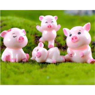 ♡可愛い豚ちゃんファミリー♡4点セット(送料込み)コメント頂きますと¥100引き