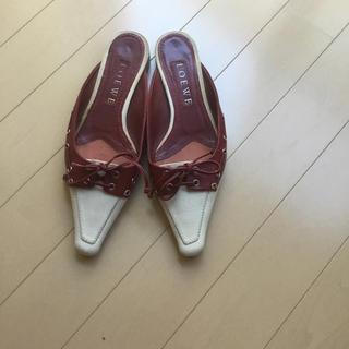 ロエベ(LOEWE)のロエベ靴(スリッポン/モカシン)