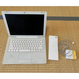 マック(Mac (Apple))のジャンク品 MacBook A1181「し」様取置き(ノートPC)