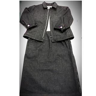 ニジュウサンク(23区)の23区 DENIM デニムジャケットスーツ(Gジャン/デニムジャケット)
