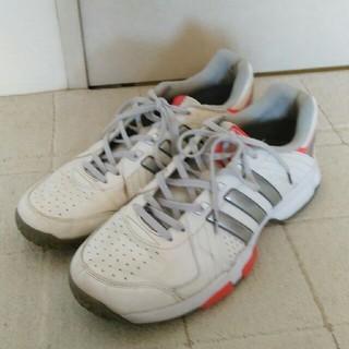 アディダス(adidas)のアディダス オムニクレーコート用 テニスシューズ 27.0cm(シューズ)