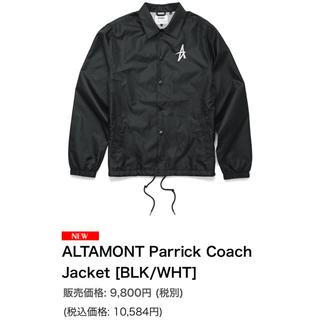 オルタモント(ALTAMONT)のALTAMONT  オルタモント コーチジャケット(ナイロンジャケット)