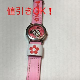 ディズニー(Disney)のミニーちゃんの腕時計(腕時計)