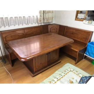 ダイニングテーブル チェア セット ※お引き取り限定(ダイニングテーブル)