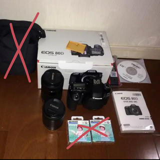 Canon - Canon 80D レンズセット