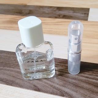 ザラ(ZARA)のZARAホワイトジャスミン3ml(お試し用)(香水(女性用))