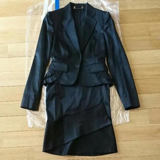 グッチ(Gucci)の【美品】GUCCI グッチ 38サイズ Mサイズ スーツ ブラック スカート(スーツ)