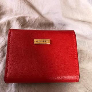 マウジー(moussy)のミニウォレット  財布 moussy(折り財布)