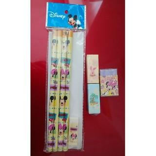 ディズニー(Disney)の鉛筆と消しゴムセット(鉛筆)