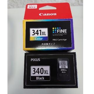 Canon - キャノン純正品 インクカートリッジ 340XL 341XL