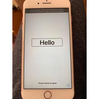 Apple - iPhone7plus 本体 ローズゴールド 128