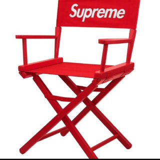 Supreme - Supreme director's chair Red