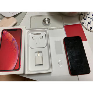 Apple - Apple iPhoneXR 256GB product RED SIMフリー