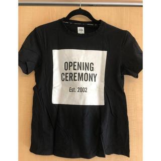 オープニングセレモニー(OPENING CEREMONY)のオープニングセレモニー 半袖Tシャツ S(Tシャツ(半袖/袖なし))