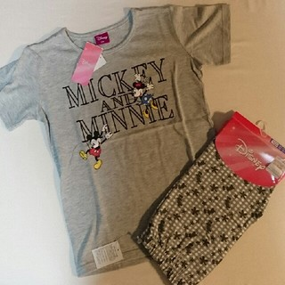 ディズニー(Disney)の新品・未使用品★ ミッキー ★ パンツ / tシャツ (パンツ/スパッツ)
