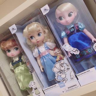 ディズニー(Disney)のアニメータードール ディズニープリンセス アナ エルサ シンデレラ(ぬいぐるみ/人形)