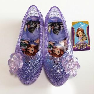 ディズニー(Disney)の新品! プリンセス キラキラサンダル 15㎝(サンダル)