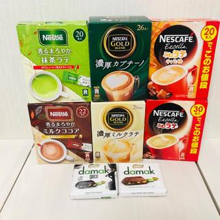 Nestle - ネスカフェ スティックコーヒー ダマック チョコ