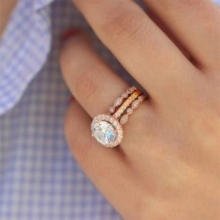 指輪  レディース リング  ジルコン  日本サイズ20号 (リング(指輪))