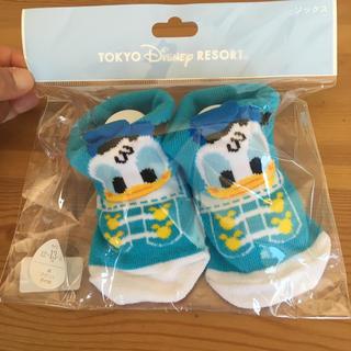 ディズニー(Disney)の☆未開封☆ ベビー靴下 ドナルド(靴下/タイツ)