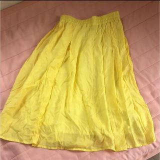 イッツデモ(ITS'DEMO)のプリーツ膝丈スカート(ロングスカート)