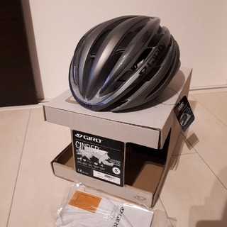 ジロ(GIRO)の新品! giro Cinder ジロ シンダー ヘルメット サイズS グレー (ウエア)