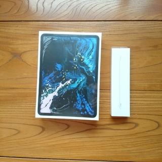アイパッド(iPad)のipad Pro 11インチ 256GB シルバー アップルペンシルセット(タブレット)
