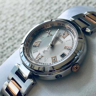シチズン(CITIZEN)の美品  CITIZEN クロスシー  XC  腕時計(腕時計)