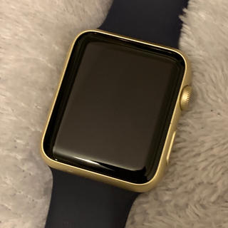 Apple Watch - Apple Watch 42mm 第1世代 ゴールドアルミニウムケース