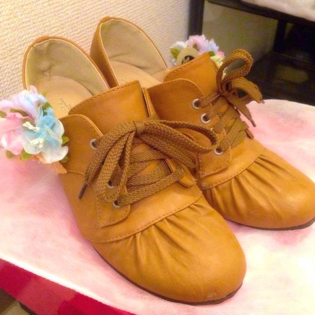 編み上げパンプス レディースの靴/シューズ(ハイヒール/パンプス)の商品写真